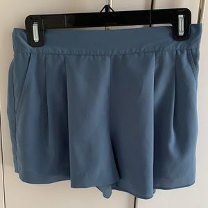 Rubbish Shorts in Dusty Blue Size S